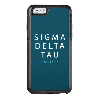 Sigma Delta Tau | Modern Type OtterBox iPhone 6/6s Case