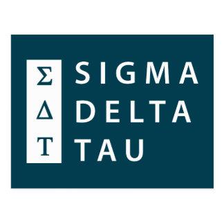 Sigma Delta Tau | Stacked Postcard
