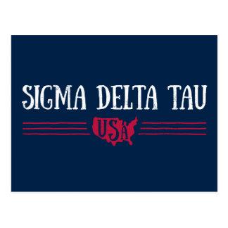 Sigma Delta Tau | USA Postcard