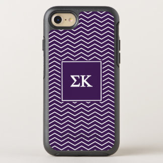 Sigma Kappa | Chevron Pattern OtterBox Symmetry iPhone 8/7 Case