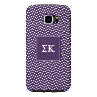 Sigma Kappa | Chevron Pattern Samsung Galaxy S6 Cases