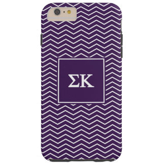 Sigma Kappa | Chevron Pattern Tough iPhone 6 Plus Case