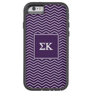 Sigma Kappa | Chevron Pattern Tough Xtreme iPhone 6 Case