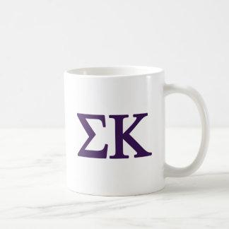Sigma Kappa Lil Big Logo Coffee Mug