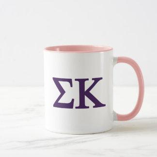 Sigma Kappa Lil Big Logo Mug