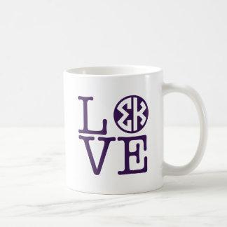 Sigma Kappa Love Coffee Mug
