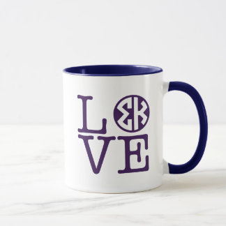 Sigma Kappa Love Mug