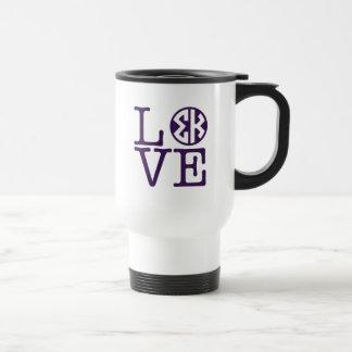 Sigma Kappa Love Travel Mug