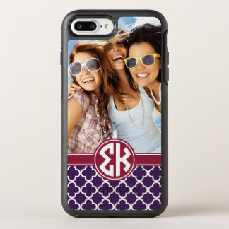 Sigma Kappa | Monogram and Photo OtterBox Symmetry iPhone 8 Plus/7 Plus Case