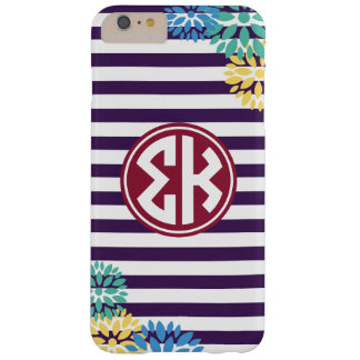 Sigma Kappa   Monogram Stripe Pattern Barely There iPhone 6 Plus Case
