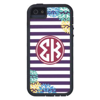 Sigma Kappa | Monogram Stripe Pattern iPhone 5 Covers