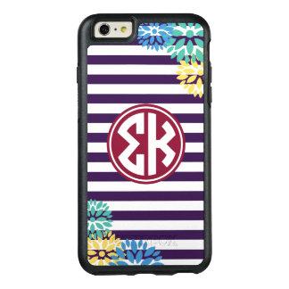 Sigma Kappa | Monogram Stripe Pattern OtterBox iPhone 6/6s Plus Case