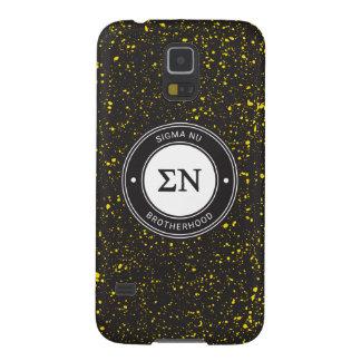 Sigma Nu   Badge Galaxy S5 Case