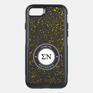 Sigma Nu | Badge OtterBox Commuter iPhone 8/7 Case