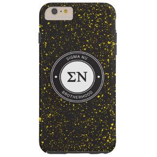 Sigma Nu   Badge Tough iPhone 6 Plus Case