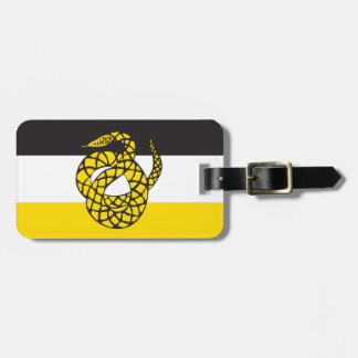 Sigma Nu Flag Luggage Tag