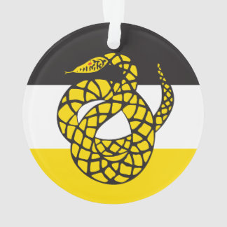 Sigma Nu Flag Ornament