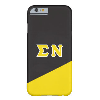 Sigma Nu | Greek Letters Barely There iPhone 6 Case