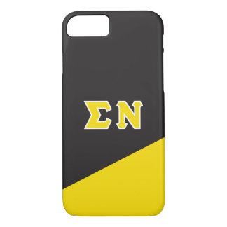 Sigma Nu | Greek Letters iPhone 8/7 Case