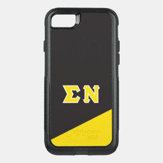 Sigma Nu   Greek Letters OtterBox Commuter iPhone 8/7 Case