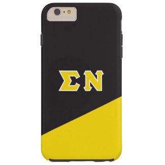 Sigma Nu | Greek Letters Tough iPhone 6 Plus Case