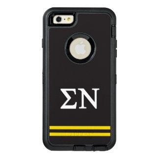Sigma Nu   Sport Stripe OtterBox Defender iPhone Case