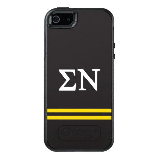 Sigma Nu | Sport Stripe OtterBox iPhone 5/5s/SE Case