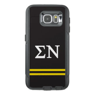 Sigma Nu   Sport Stripe OtterBox Samsung Galaxy S6 Case