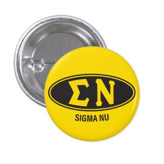 Sigma Nu | Vintage 3 Cm Round Badge