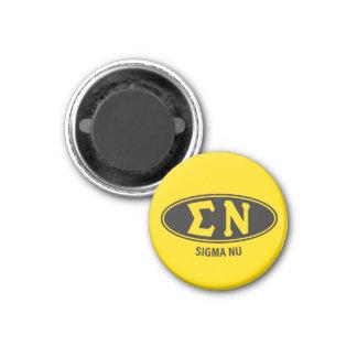 Sigma Nu   Vintage Magnet