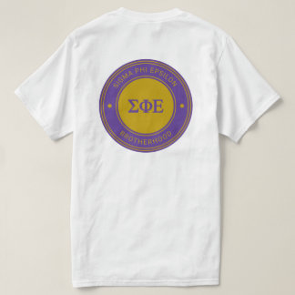 Sigma Phi Epsilon   Badge T-Shirt