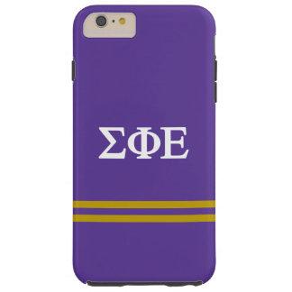 Sigma Phi Epsilon | Sport Stripe Tough iPhone 6 Plus Case