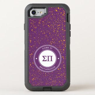 Sigma Pi | Badge OtterBox Defender iPhone 8/7 Case