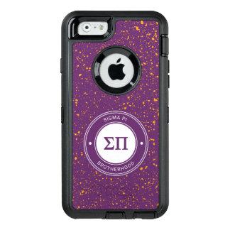 Sigma Pi | Badge OtterBox Defender iPhone Case