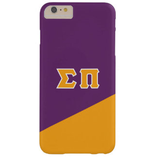 Sigma Pi   Greek Letters Barely There iPhone 6 Plus Case