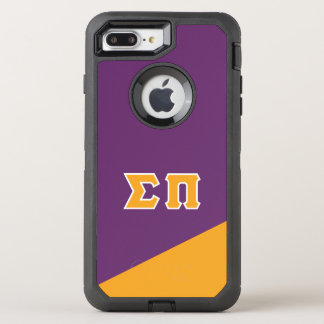 Sigma Pi | Greek Letters OtterBox Defender iPhone 7 Plus Case