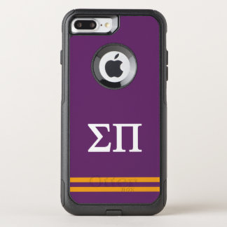 Sigma Pi | Sport Stripe OtterBox Commuter iPhone 7 Plus Case