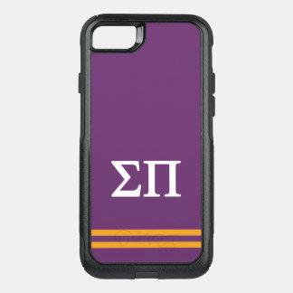 Sigma Pi | Sport Stripe OtterBox Commuter iPhone 8/7 Case