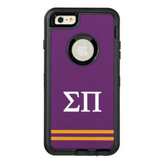 Sigma Pi   Sport Stripe OtterBox Defender iPhone Case