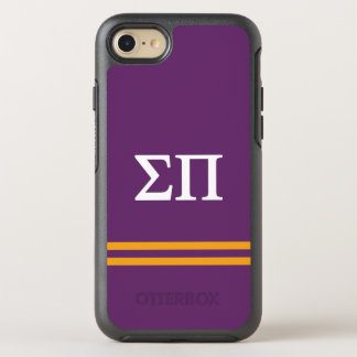 Sigma Pi | Sport Stripe OtterBox Symmetry iPhone 7 Case
