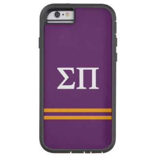 Sigma Pi | Sport Stripe Tough Xtreme iPhone 6 Case