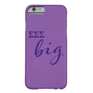 Sigma Sigma Sigma Big Script Barely There iPhone 6 Case