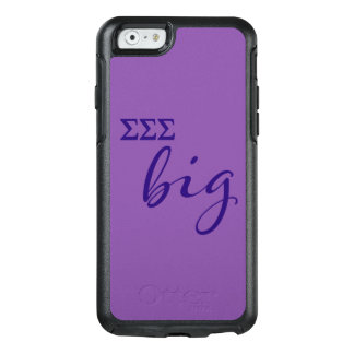 Sigma Sigma Sigma Big Script OtterBox iPhone 6/6s Case