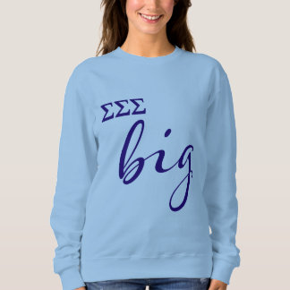 Sigma Sigma Sigma Big Script Sweatshirt