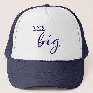 Sigma Sigma Sigma Big Script Trucker Hat