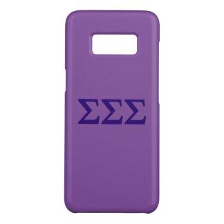 Sigma Sigma Sigma Lil Big Logo Case-Mate Samsung Galaxy S8 Case