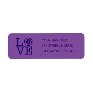 Sigma Sigma Sigma Love Return Address Label