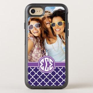 Sigma Sigma Sigma | Monogram and Photo OtterBox Symmetry iPhone 8/7 Case