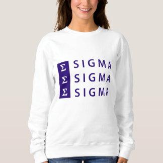 Sigma Sigma Sigma Stacked Sweatshirt