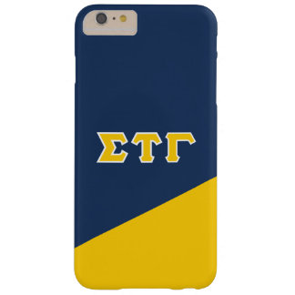 Sigma Tau Gamma | Greek Letters Barely There iPhone 6 Plus Case